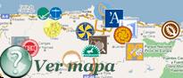 Mini mapa Museos